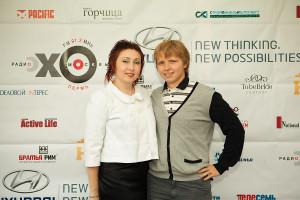 Наталья и Александр Хомутовы на открытии отеля HamiltoN в Перми