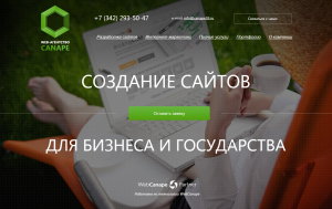 Сайт моего веб-агентства www.canape59.ru