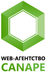 Логотип веб-агентства Канапе