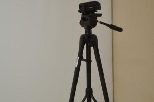 Видеокамера на штативе в РМЦПК