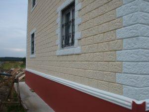 Готовый дом из фибропеноблока в Перми
